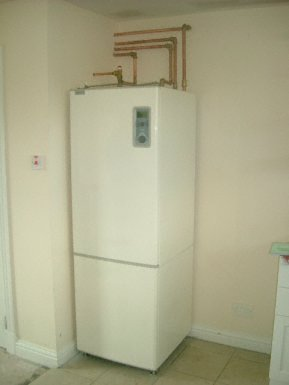 photo of ground source heat pump and heat recovery