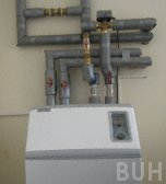 photo of ground source heat pump