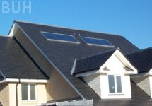 solar hot water panels photo