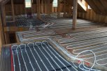 underfloor heating upstairs in suspended timber floor
