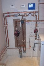 underfloor heating plumbing photo